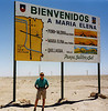 The Atacama in 1998; Pampa, Salitre and Sol - plain, nitrate and sun, yep that sort of sums up Maria Elena