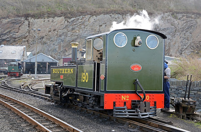 ...followed by Lyd which is the second of the day's rostered locomotives