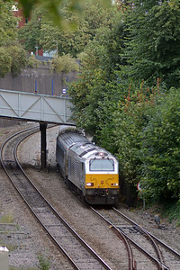 The 18:15 Marylebone to Kidderminster passing through High Wycombe